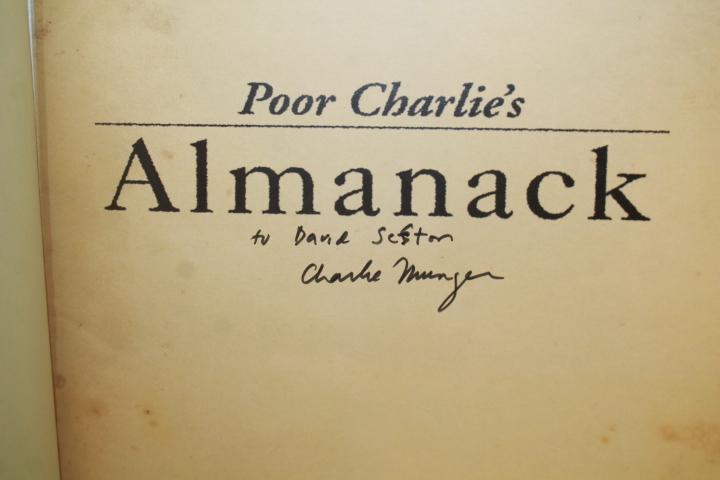 Munger, Charles Charlie.; Kaufman, P...: Poor Charlie's Almanack