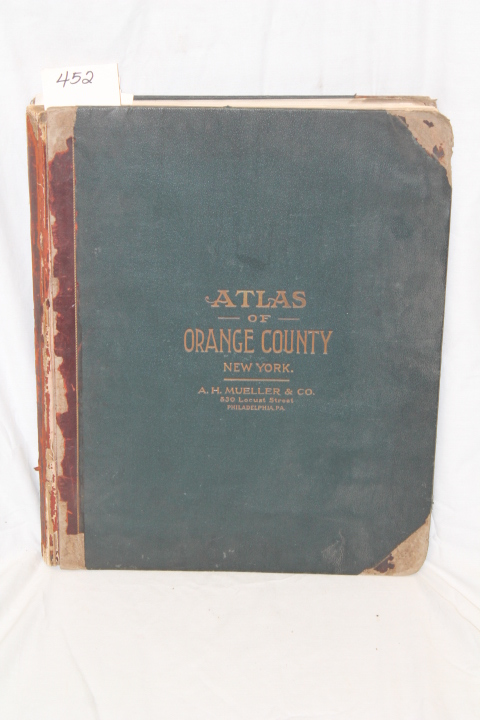 Lathrop, & Pidgeon, Roger. & Stickne...: Atlas of Orange County,