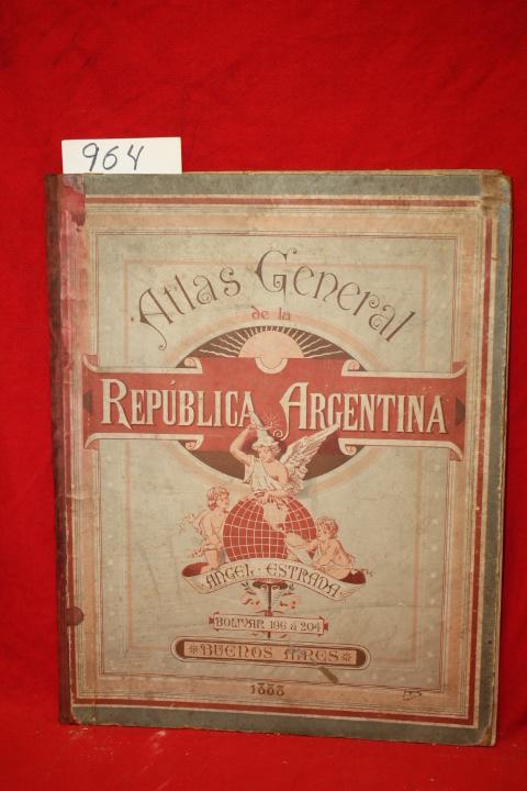 Beyer, Carlos; Johnston, A. K.: Atlas General de la Republica Ar