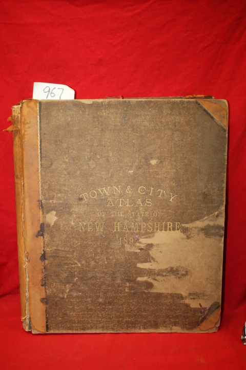 D. H. Hurd & Co.: Town & City Atlas of the State of New Hampshir