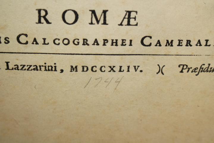Cortonensi, Rudolphino Venuto: Antiqua Numismata Maximi Moduli A