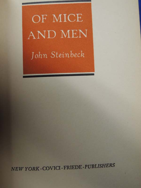 Steinbeck, John: Of Mice and Men