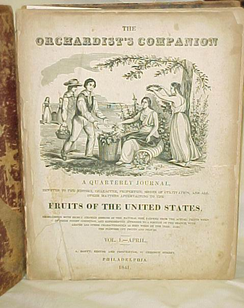 Hoffy, Alfred: The Orchardist's Companion A Quarterly Journal Fr