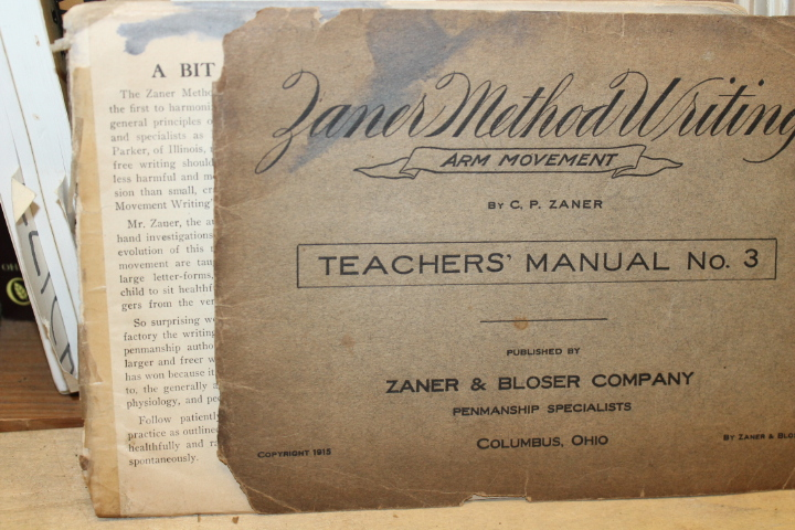 Zaner, C. P.: Zaner Method Writing: Arm Movement - Teacher's Man