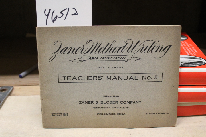Zaner, C. P.: Zaner Method Wiriting Art Movement Teacher's Manua