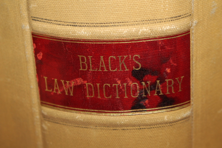 Black, Henry Campbell: Dictionary Law Containing Definitions,Ter
