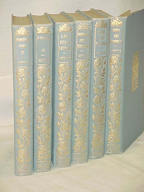 Austen, Jane  SIX VOLUMES: Lady Susan Letters; Emma; Mansfield P