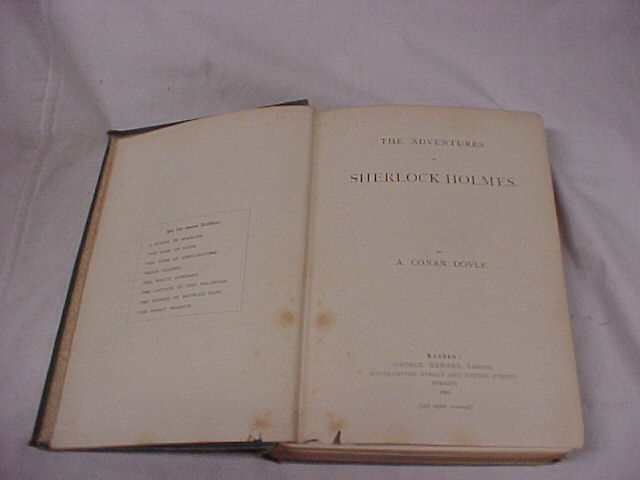 Doyle, Arthur Conan: The Adventures of Sherlock Holmes