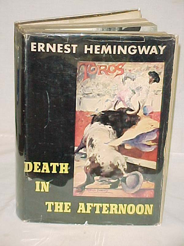 Hemingway, Ernest: Death in the Afternoon