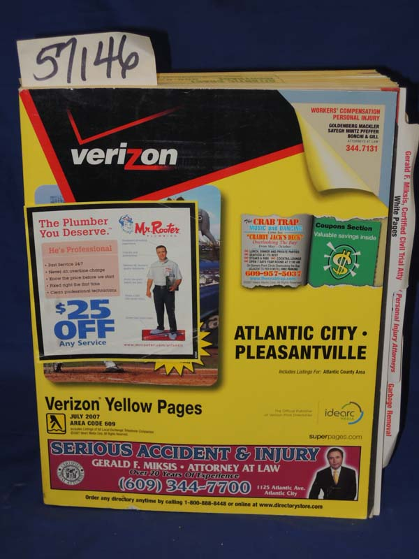 Atlantic city yellow pages