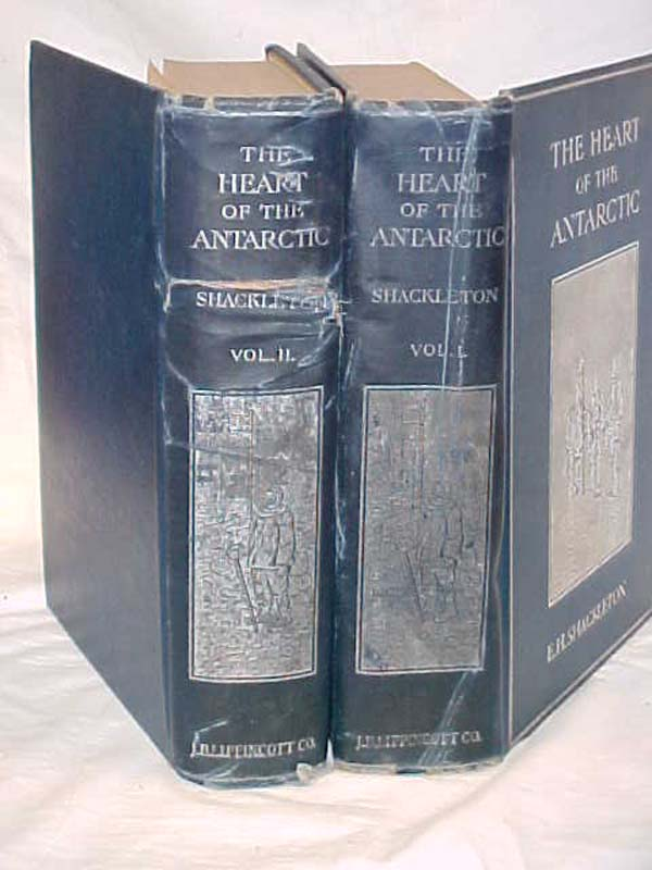 Shackleton, E.H Author Signed: The Heart of the Antarctic; being