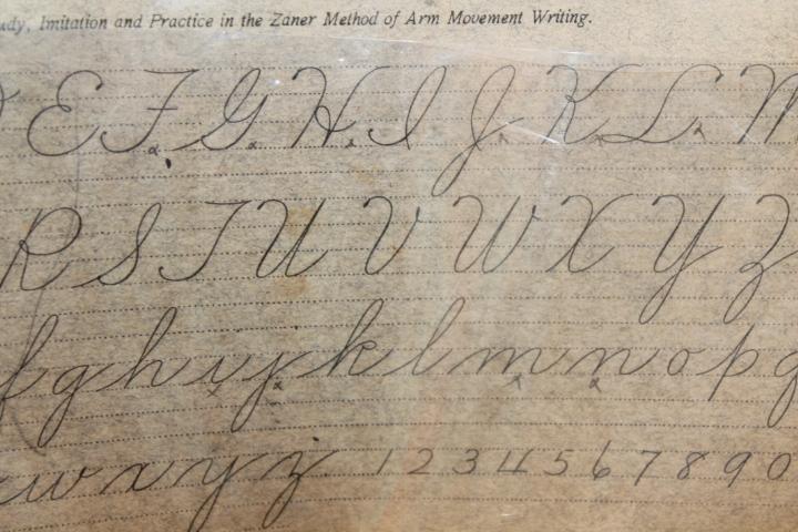 Zaner: The Zaner Method of arm movement writing: Compendium No.8