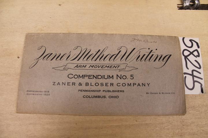 Zaner: The Zaner Method of arm movement writing: Compendium No.5