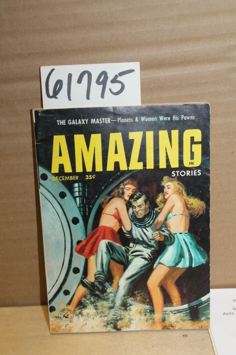 ZIFF DAVIS: Amazing Stories December 1956 Vol. 30 No 12 Galaxy M