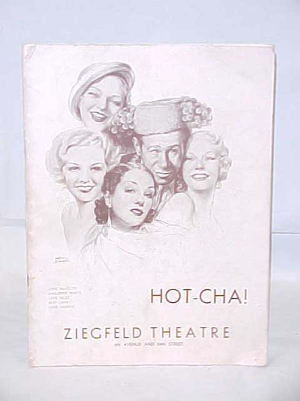 ZIEGFELD THEATRE: Hot-Cha!
