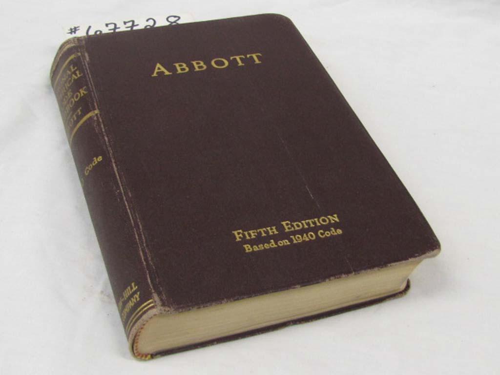 Abbott, Arthur L.: National Electrical Code Handbook