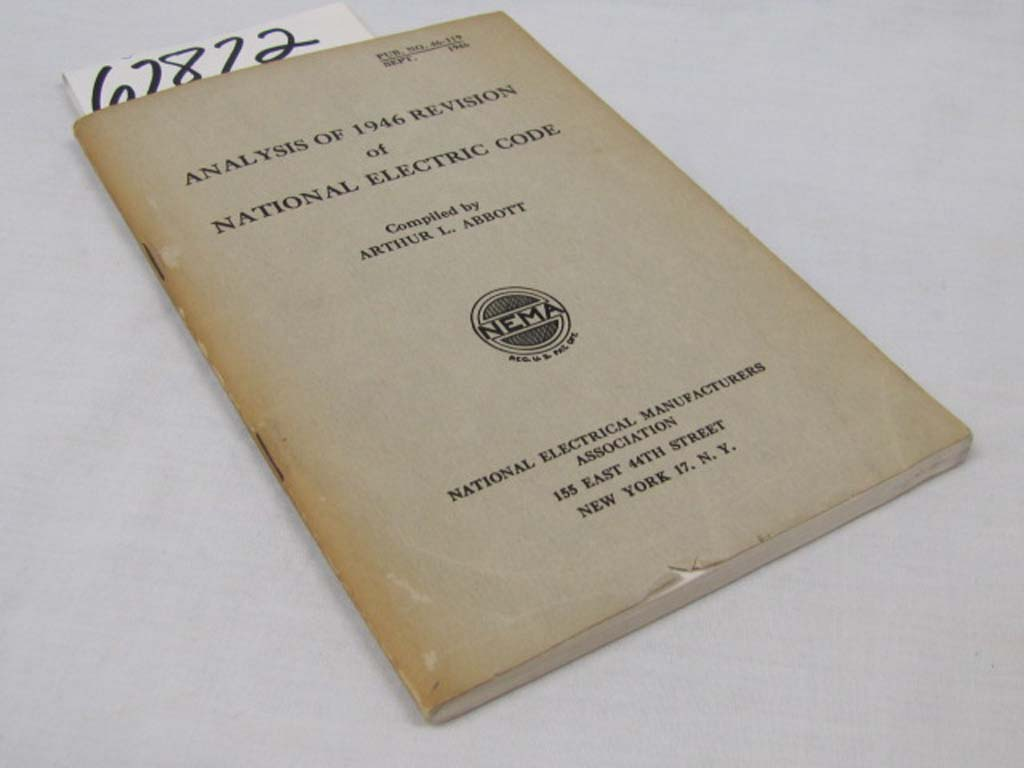 Abbott, Arthur L: Analysis of 1946 Revision of National Electric