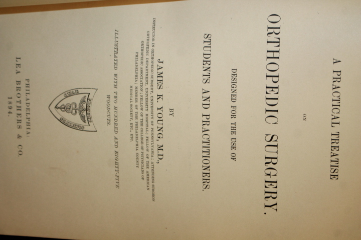 Young, James K: Practical treatise. on Orthopedic Surgery design