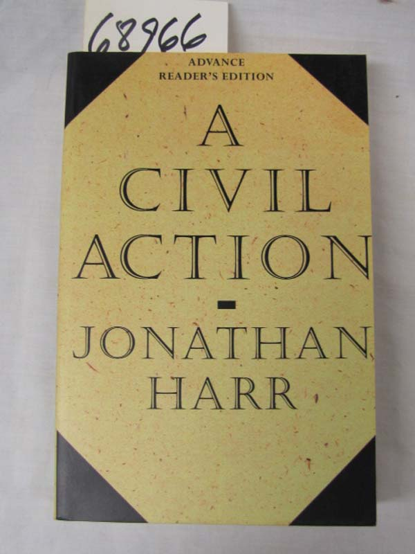 a civil action paper Discussion questions a civil action by jonathan harr 1 when he hears about the lawsuit, jack riley is outraged i was born and brought up in this town, he says.