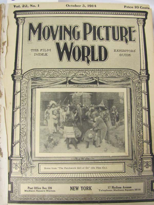 Bushman, Francis X. and Selbie, Evelyn: Moving Picture World