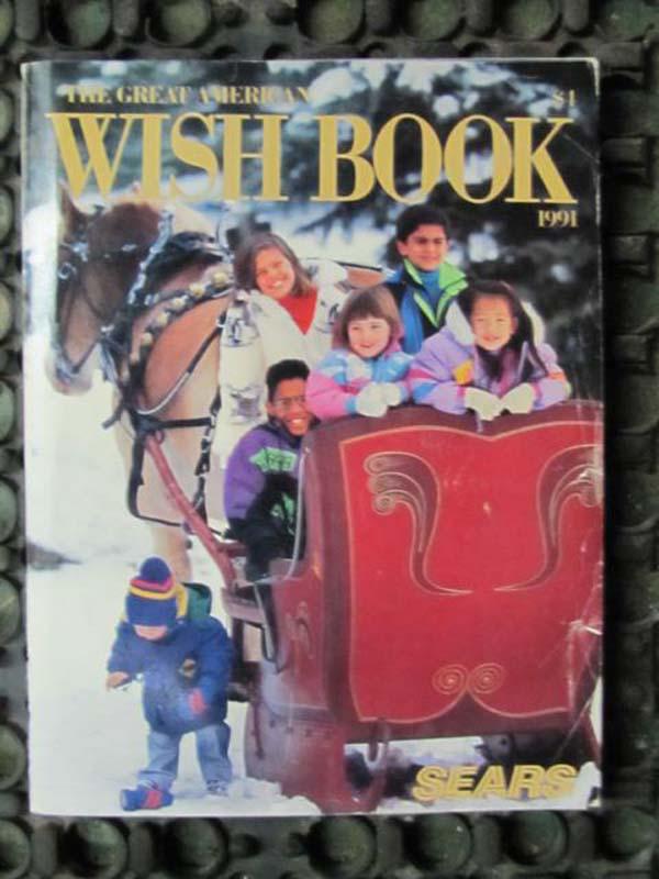 Sears Christmas Catalog.Sears Roebuck Sears Roebuck Wish Book 1991 Christmas