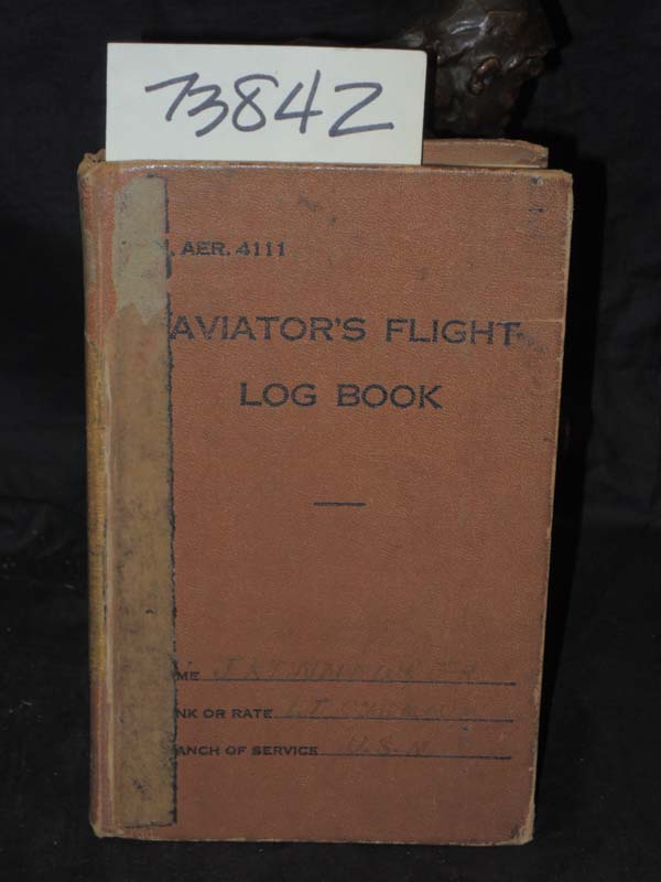 KENNEDY, COMMANDER JEFFERSON JR: Air Flight Log Books of KENNEDY