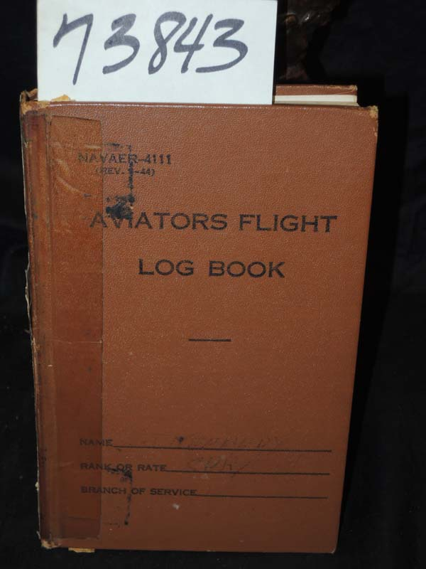 Kennedy, Commander Jefferson: Air Flight Log Books of Commander