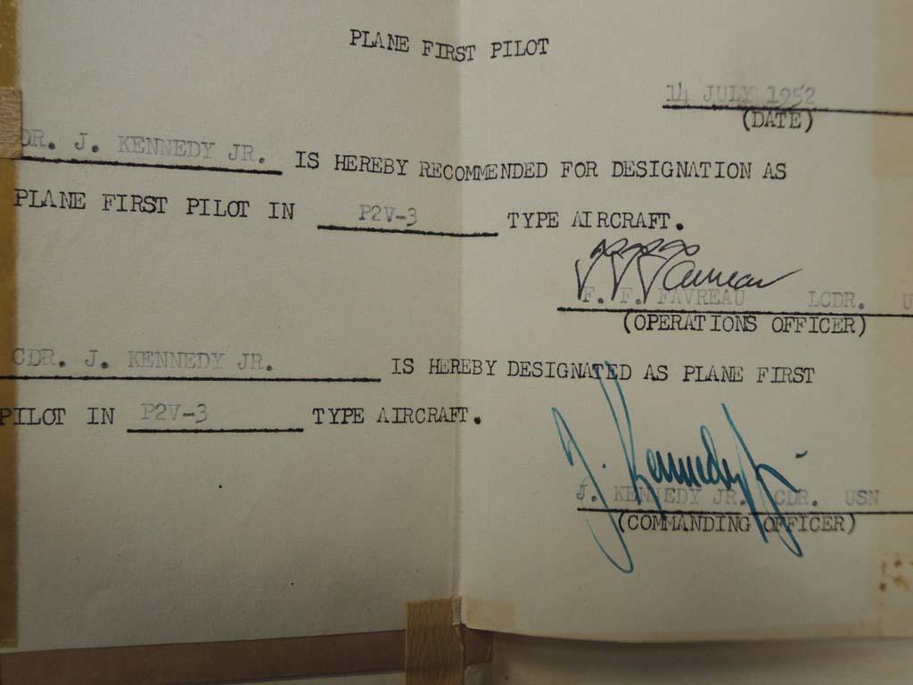 Kennedy, Commander Jefferson: Air Flight Log Books of Commander