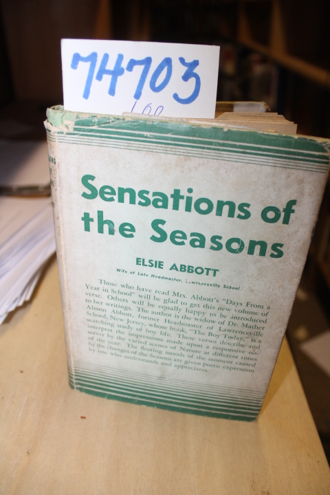 Abbott, Elsie: Sensations of the Seasons