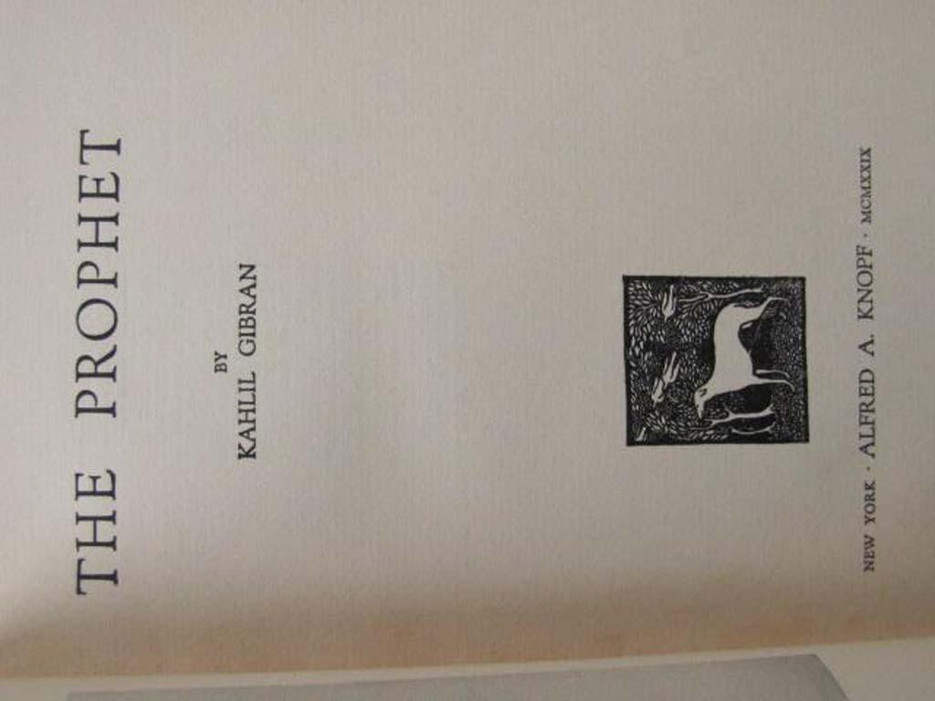Gibran, Kahlil: The Garden of the Prophet & The Prophet (2 books