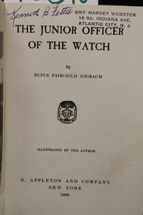 Zogbaum, Rufus F.: The Junior Officer of the Watch