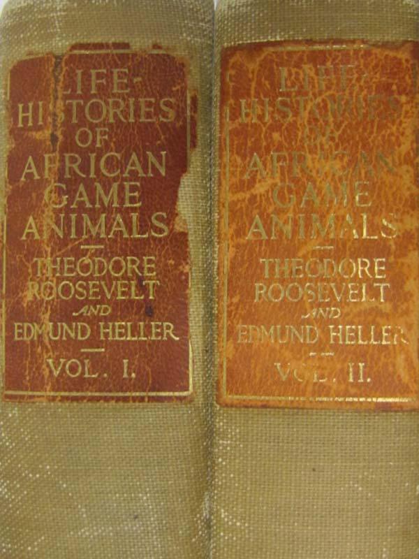 Roosevelt, Theodore & Heller, Edmund: Life-Histories of African