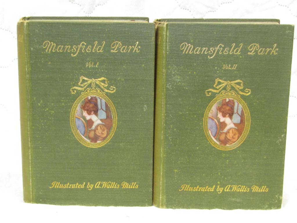 Austen, Jane: Mansfield Park Volumes 1 & 2 Duffield & Co