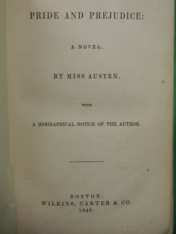 Austen, Jane: Pride and Prejudice: A Novel with A Biographical N