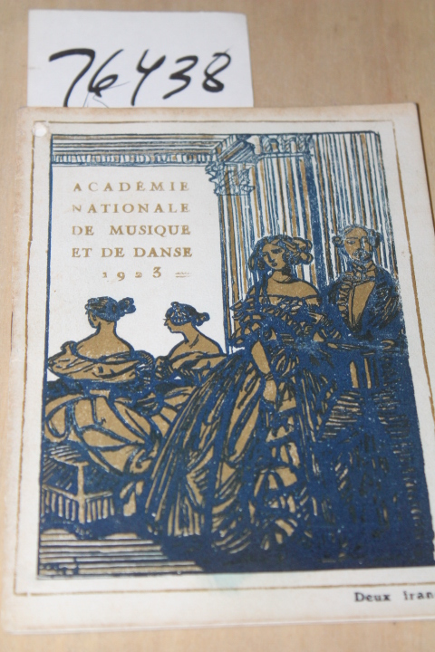 Acadmie Nationale De Musique et de Danse: Gazette de l'Opera