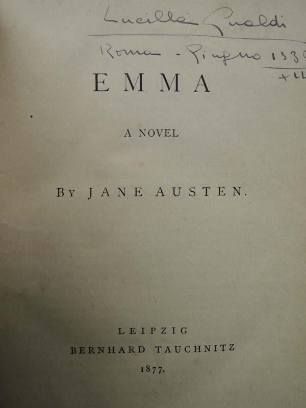Austen, Jane: Emma