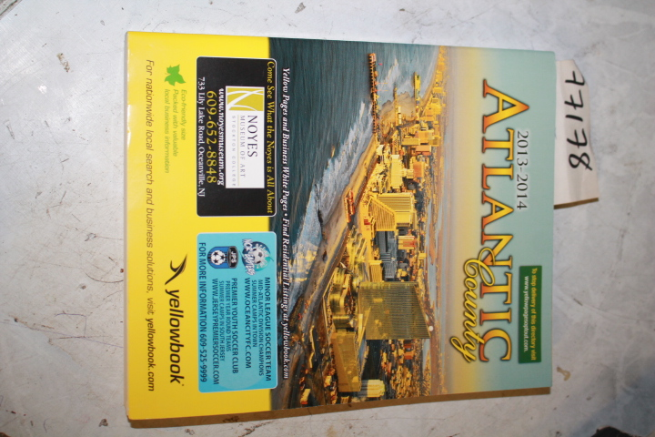 Yellow book: 2013-2014 Atlantic County NEW JERSEY TELEPHONE DIRE
