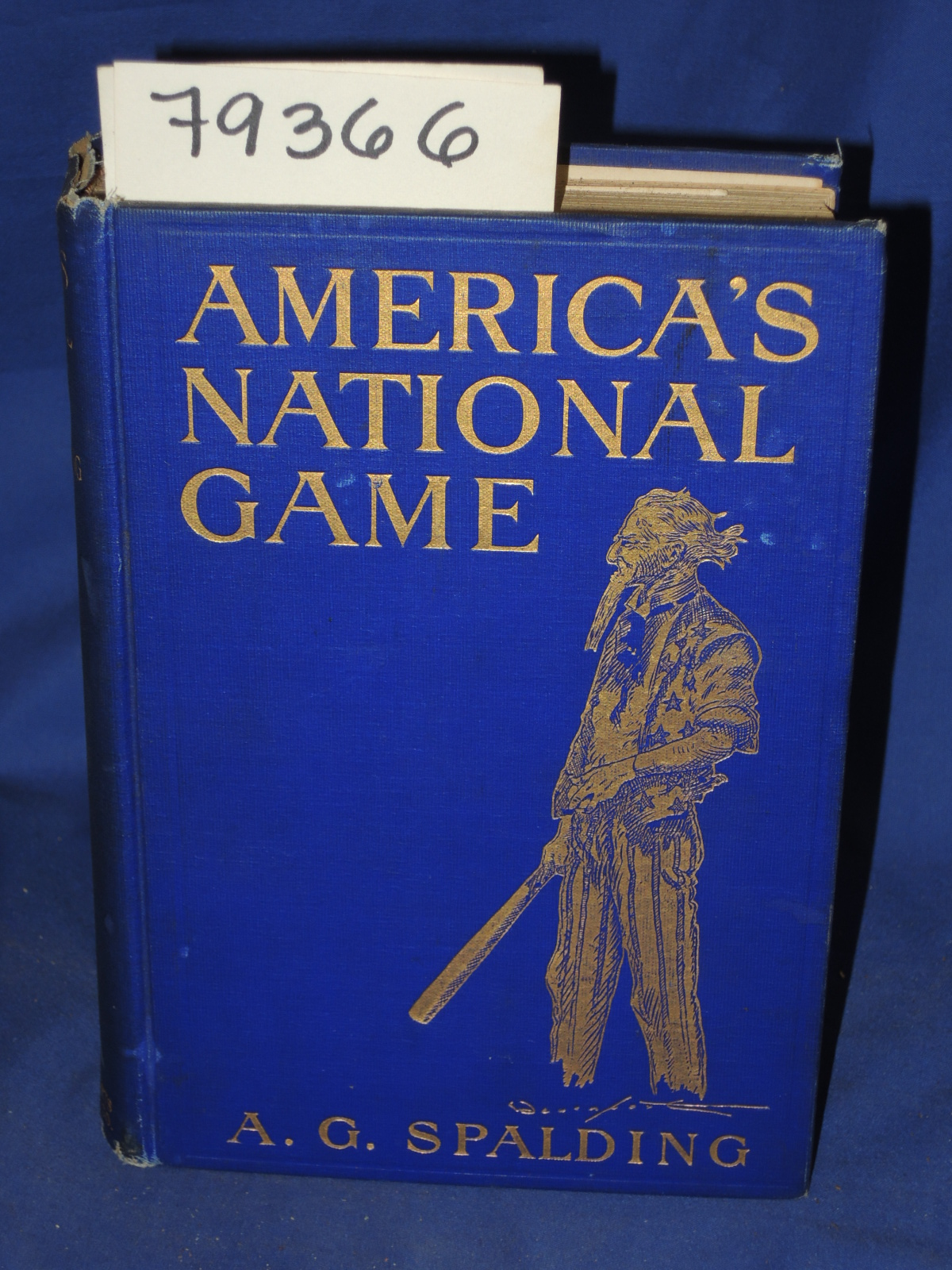 Spalding, A.G.: AMERICA'S NATIONAL GAME