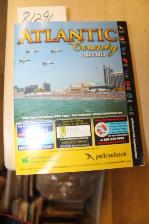Yellowbook: Atlantic County Yellowbook 2012 - 2013