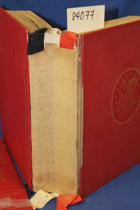 ABRADALE PRESS: The Holy Bible Michelangelo RED  Edition