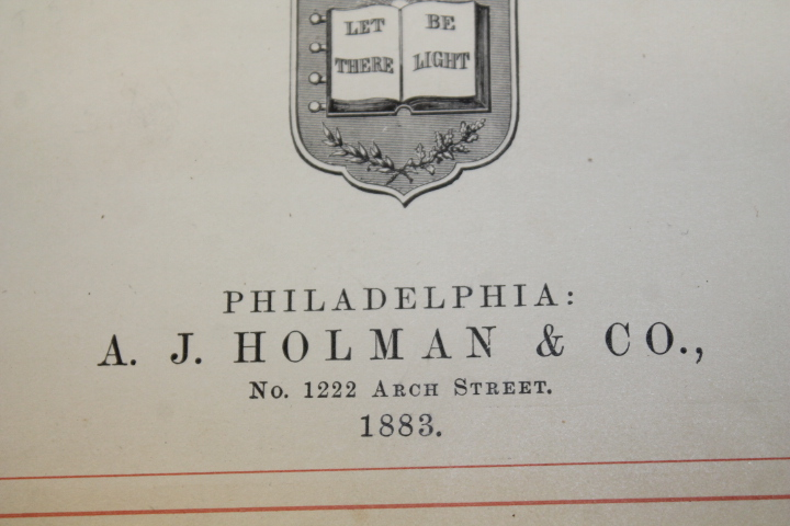 A.J. Holman & Co: The Holy Bible Containing Old and New Testamen
