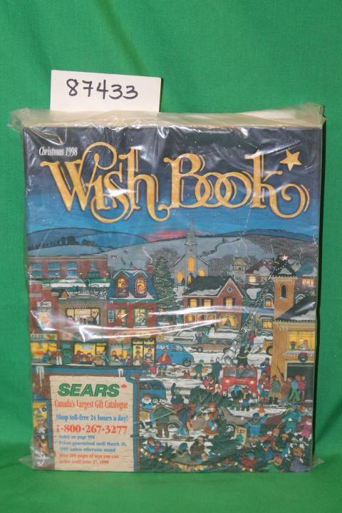 Sears Christmas Wish Book.Sears Roebuck Sears Christmas Wish Book 1998 Canada Catalog