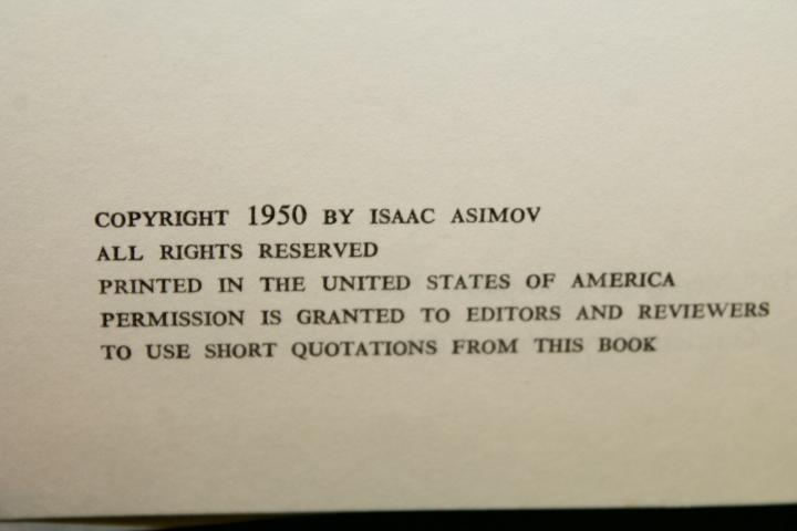 Asimov, Isaac: I, Robot