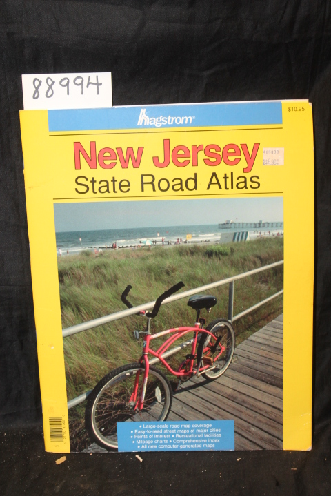 ADC of Alexandria, Inc.: New Jersey State Road Atlas