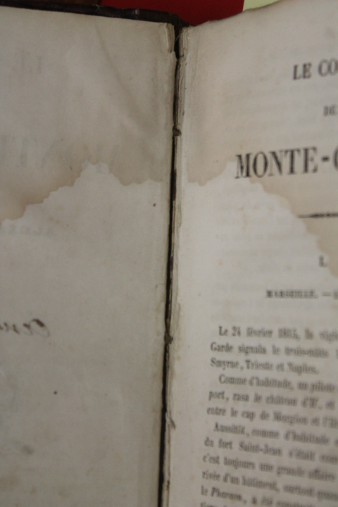 Dumas, Alexandre: Le Comte Monte Cristo Vols. 1-6