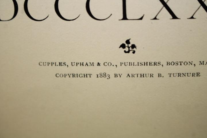 Little, John M.; Robinson, Frank T.: Catalogue of the Art Depart