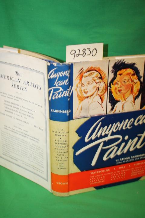 Zaidenberg, Arthur: Anyone Can Paint!