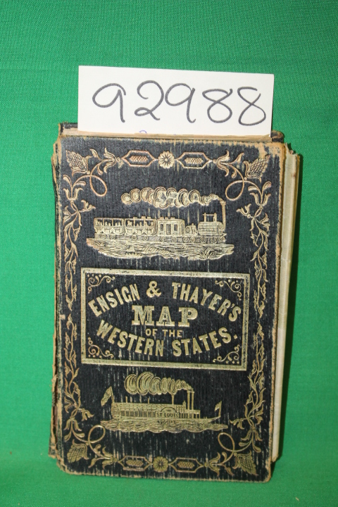 Ensign & Thayer's: Travellers' Guide Through the States of Ohio,