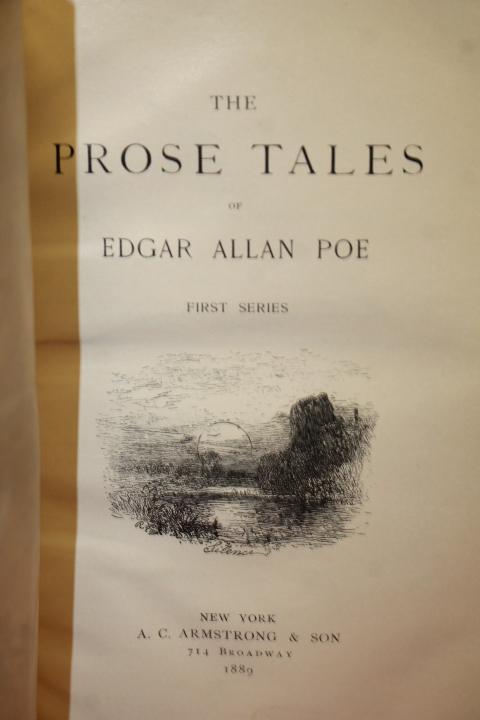 Poe, Edgar Allan: The Prose Tales of Edgar Allan Poe (3 Series)