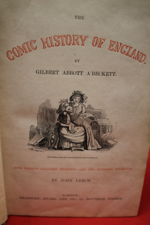 A'Beckett, Gilbert Abbott: The Comic History of Rome and England